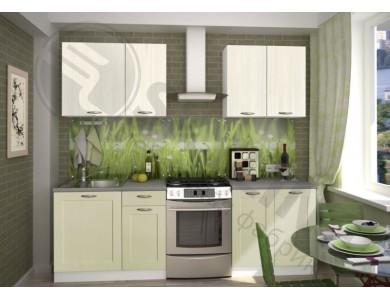Кухня Базис Nicole-Mix-05 1.7 метра (зеленая)