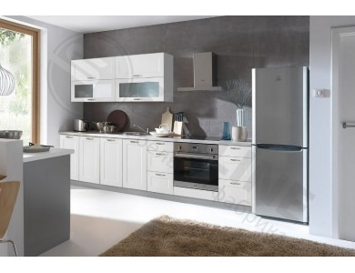 Кухня Базис Nicole-11 3 метра (белая)