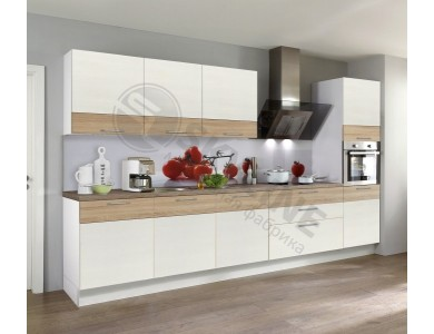 Кухня Базис Linewood-12 3.2 метра (ваниль)