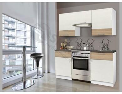 Кухня Базис Linewood-13 1.7 метра (ваниль)