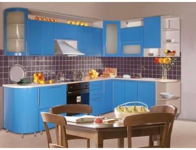 Кухня Палермо-01 на заказ, крашеная.