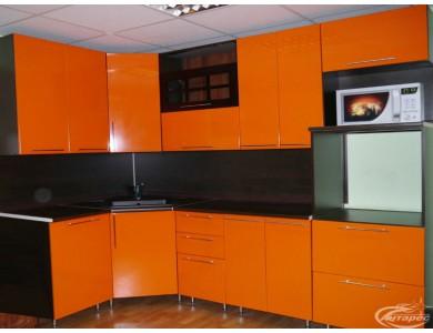 Кухня Палермо-06 на заказ, эмаль.