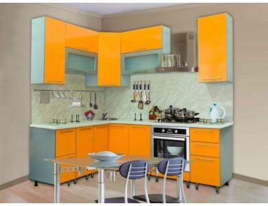 Кухня Торино-07 2.6 метра (желтая)