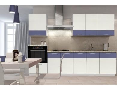 Кухня Базис Linecolor-01 2.8 метра (белая)
