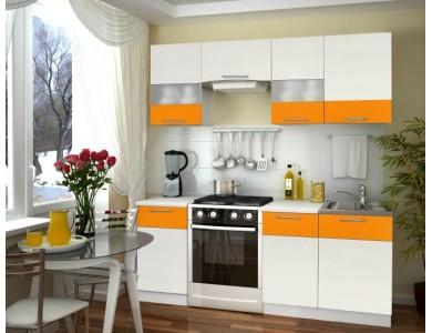 Кухня Базис Linecolor-02 2 метра (манго)