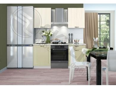Кухня Базис Nicole-Mix-04 1.8 метра (зеленая)