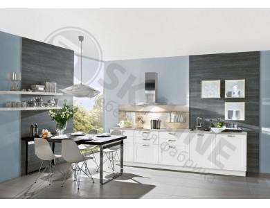 Кухня Базис Nicole-Mix-08 3 метра (белая)