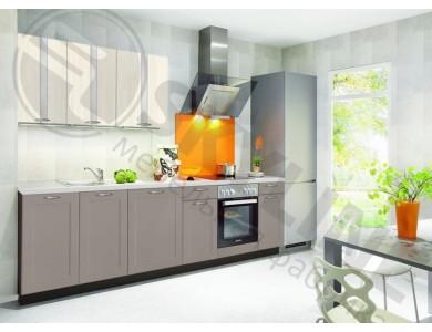 Кухня Базис Nicole-Mix-17 2.9 метра (серая)