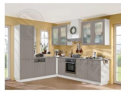 Кухня Базис Nicole-01 2.4 метра (серая)