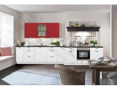 Кухня Базис Nicole-09 3.6 метра (белая)