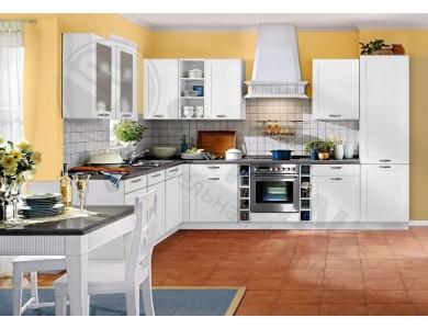 Кухня Базис Nicole-10 3.3 метра (белая)