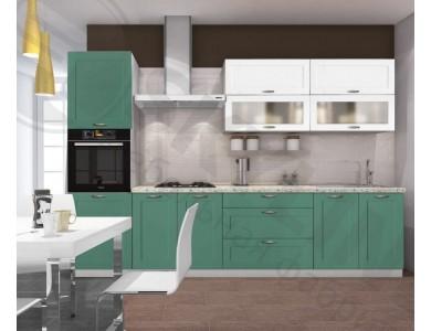 Кухня Базис Nicole-13 3 метра (зеленая)