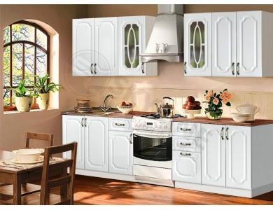 Кухня Базис Классика-04 2.8 метра (белая)