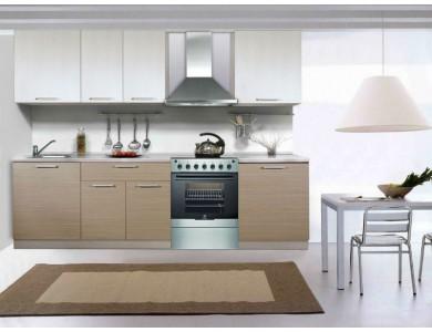 Кухня Базис 03 2.6 метра (серая)