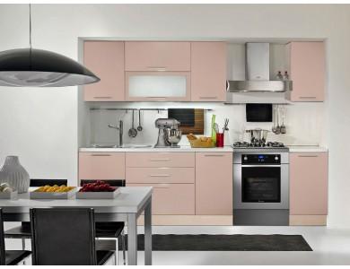 Кухня Базис-21 2.7 метра (серый)
