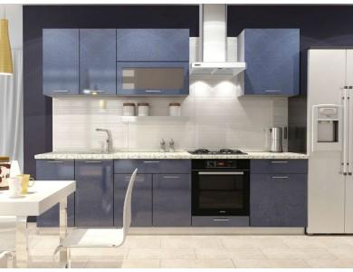 Кухня Базис-24 2.8 метра (синяя)