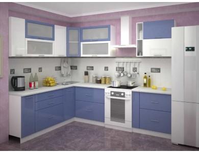 Кухня Базис-41 2.1 метра (синяя)