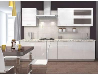 Кухня Базис-47 2.8 метра (белая)