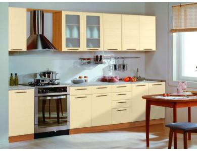 Кухня Базис Эко-12 прямая, модульная.