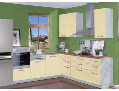 Кухня Базис Миксколор-01 2.2 метра (желтая)