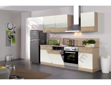 Кухня Базис Linewood-11 2.25 метра (ваниль)