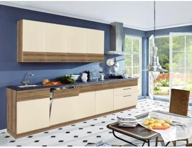 Кухня Базис Linewood-03 3.2 метра (ваниль)