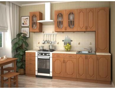 Кухня Настя-10 2.2 метра (ольха)