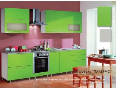 Кухня Палермо-02 на заказ, эмаль.