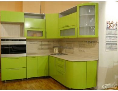 Кухня Палермо-03 эмаль, на заказ.