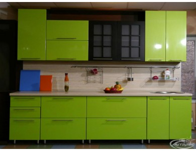 Кухня Палермо-04 на заказ, эмаль.