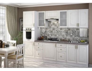 Кухня Виктория 01 2.8 метра (белая)