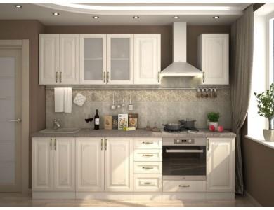 Кухня Виктория-02 2.8 метра (белая)