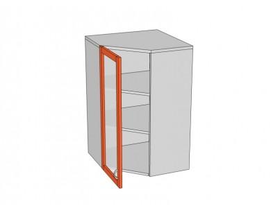 Шкаф угловой 600х960 стекло